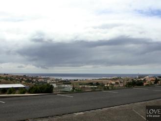 Porto Santo, widok z parkingu przy lotnisku