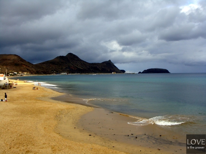 Porto Santo Praia Dourada