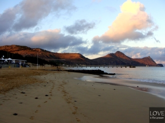 Porto Santo Plaża (Praia Durada)