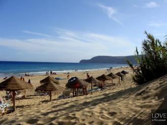 Porto Santo - plaża (Praia Dourada)