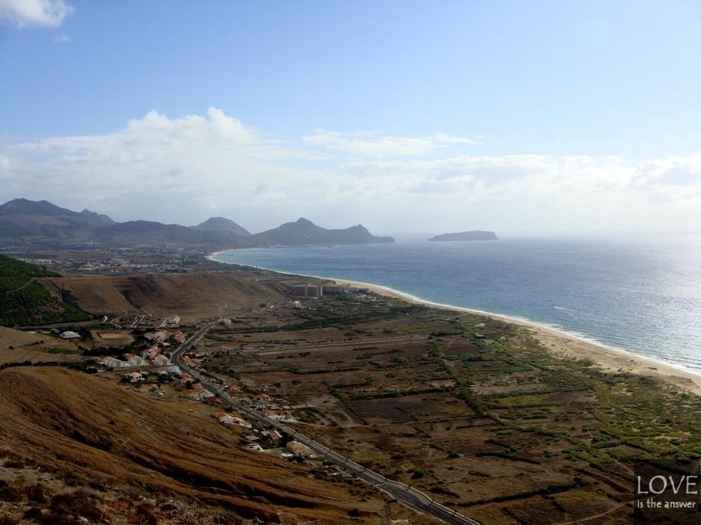 Porto Santo - panorama wyspy