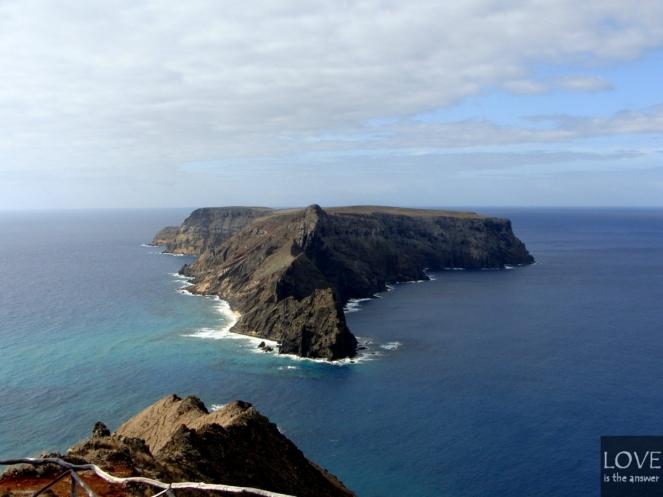 Porto Santo Widok na sąsiednie wysepki