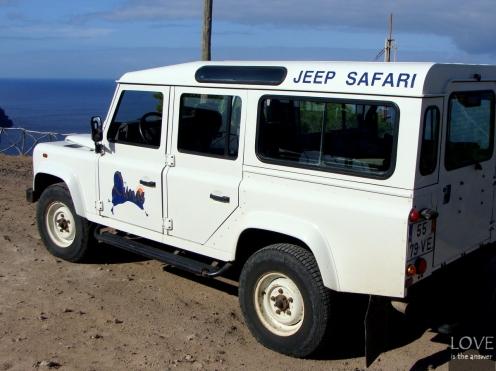 Porto Santo - Jeep