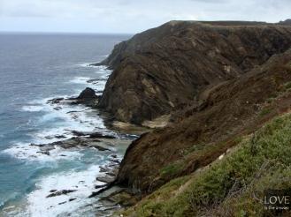 Porto Santo - północ wyspy