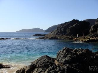 Porto Santo skaliste wybrzeże