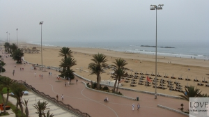Pochmurny poranek w Agadirze