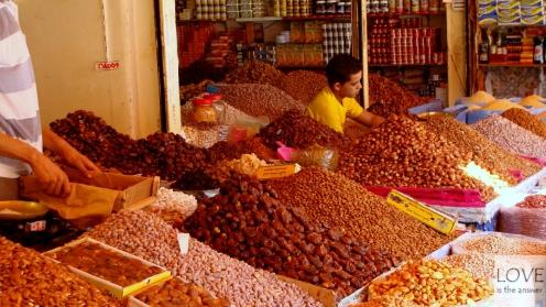 Bazar w Agadirze