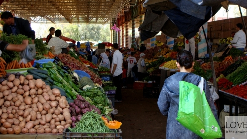 Souk w Agadirze