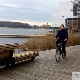 Sebastian też roweruje