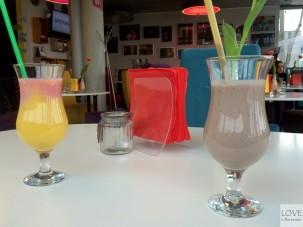 koktajle w Hangloose Caffé