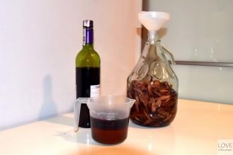 Czerwone wino i miód - Mama Juana