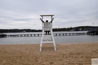 Plaża miejska - Jezioro Ukiel