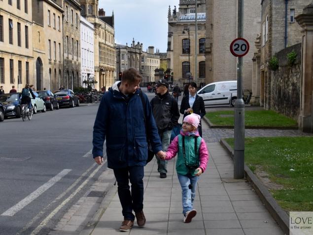 spacer w Oksfordzie