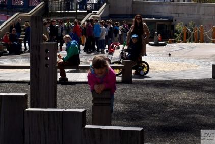 plac zabaw nad Tamizą