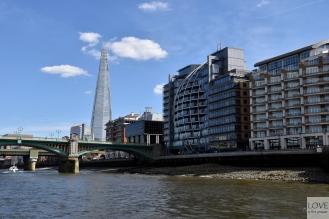 Oglądamy Londyn z tramwaju wodnego