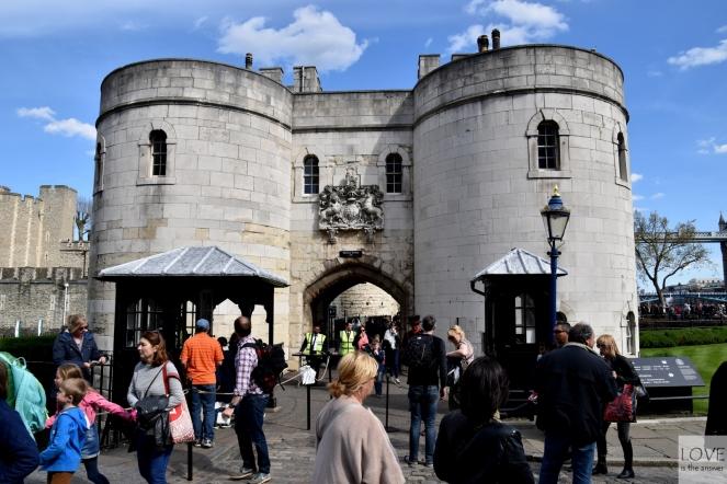 Twierdza Tower- Londyn