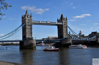 Tower Bridge- Londyn
