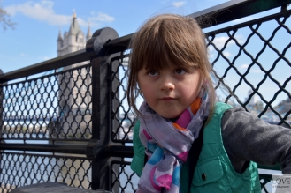 Maja z widokiem na Tower Bridge