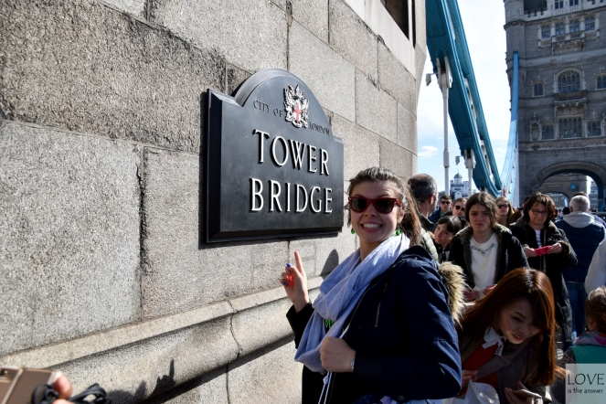 to Tower Bridge!!! :D
