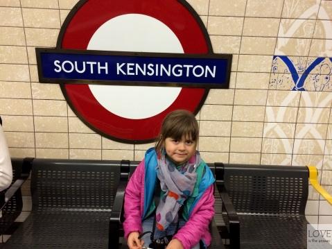 Maja w londyńskim metrze