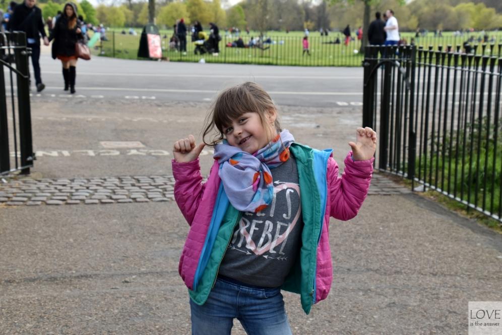 Maja przeszczęśliwa po dniu w Londynie!