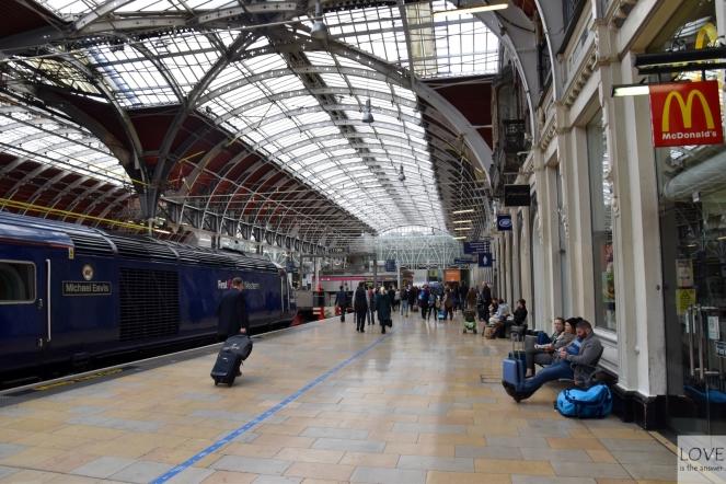 Stacja Paddington- Londyn