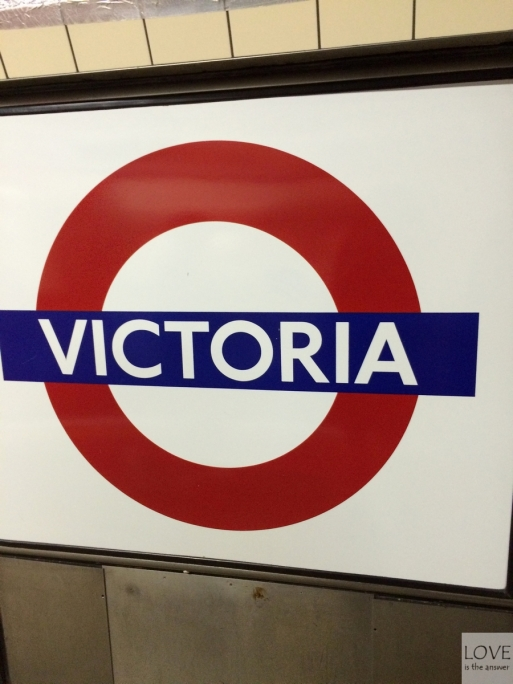 Victoria Station- Londyn