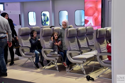 Emirates experience!