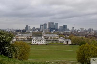 widok z Greenwich