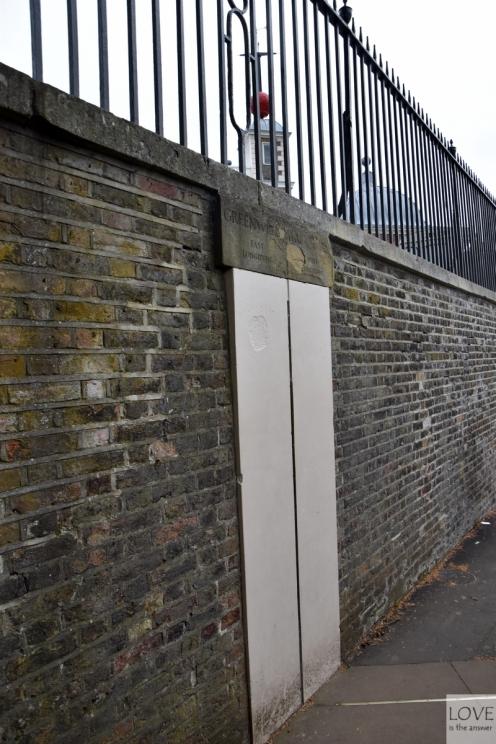 historyczny południk zero - Greenwich