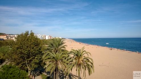 Costa Brava - plaża w Calelli