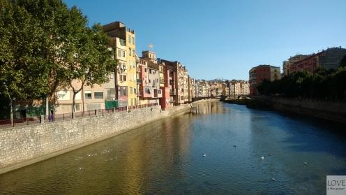 Nad rzeką Ter w Gironie
