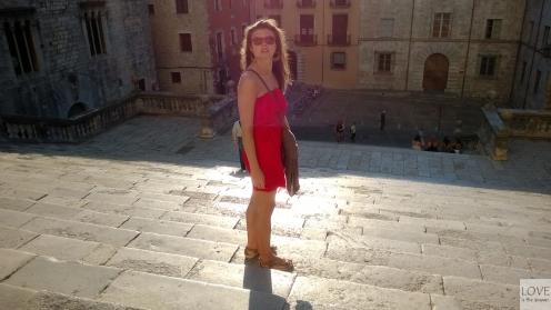 Girona - przy katedrze