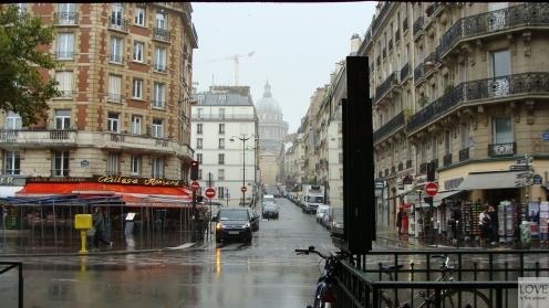 Ulewa w Paryżu