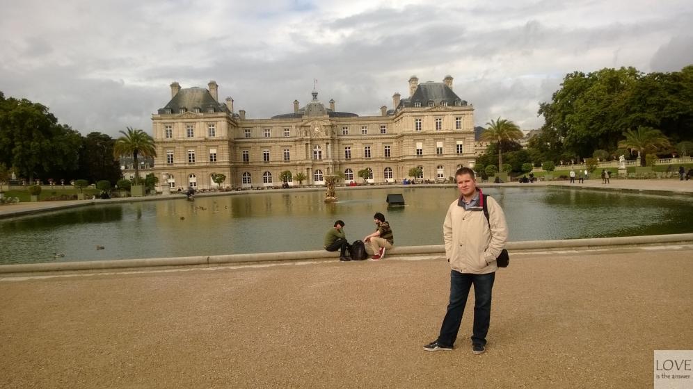 Ogrody Luksemburskie Paryż