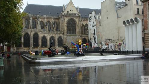 okolice Centrum Pompidou Paryż