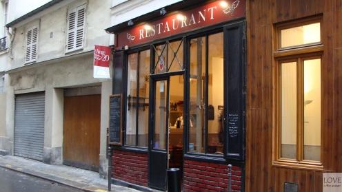 Restauracja L'ange 20 Paryż
