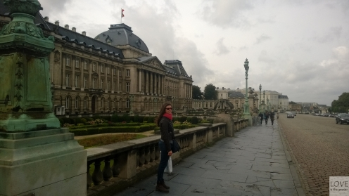 spacer po Brukseli-Pałac Królewski