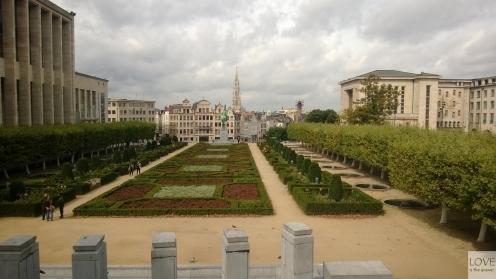 spacer po Brukseli