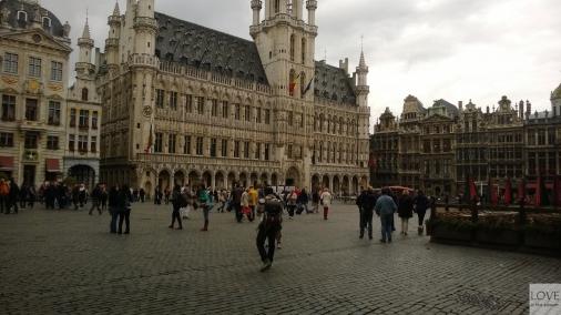 główny plac miejski- Bruksela