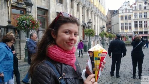 frytki belgijskie! :D