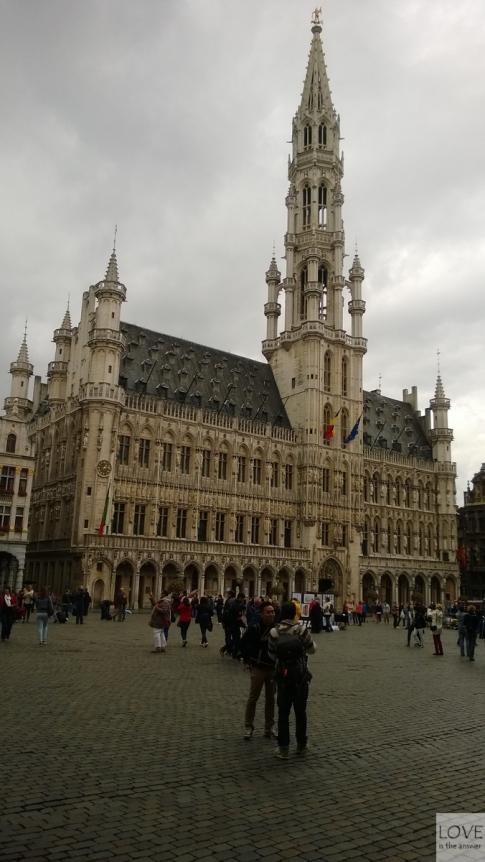 Gotycki Ratusz- Bruksela