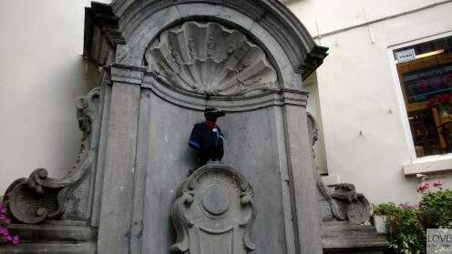 Bruksela- Manneken Pis