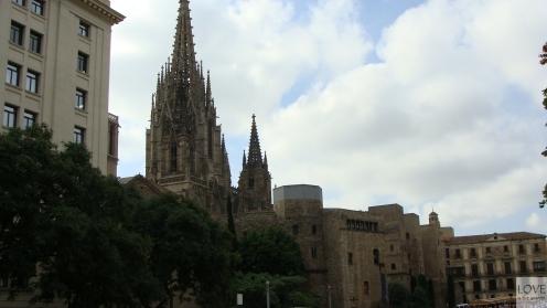 Gotycka Katedra Barcelona