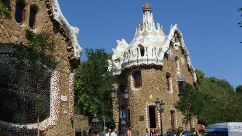 Wejście do Parku Güell