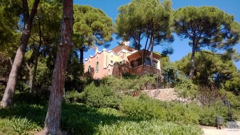 Dom Gaudiego w Parku Güell