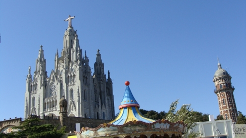 kościół Sagrat Cor na Tibidabo