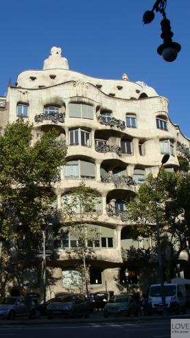 Casa Milá (La Pedrera) Barcelona