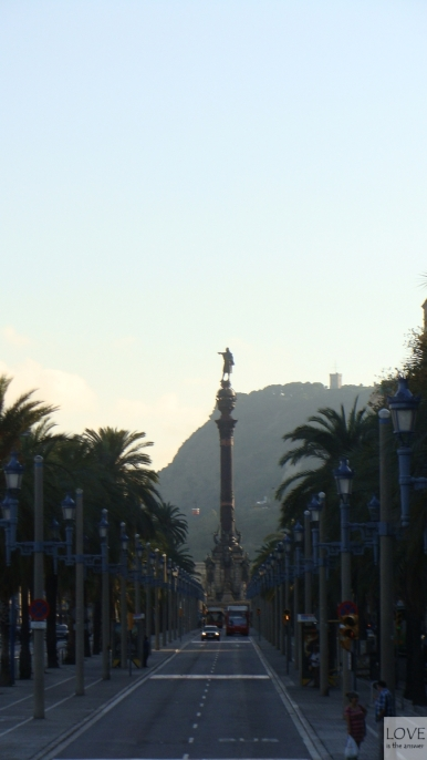 Pomnik Krzysztofa Kolumba Barcelona