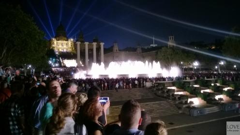 Magiczne fontanny Barcelona
